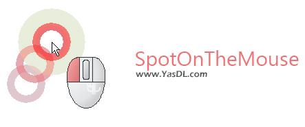 دانلود SpotOnTheMouse 2.8.1 - نمایش کلیک های ماوس