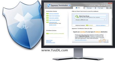 دانلود Spyware Terminator Premium 2015 3.0.1.107 + Portable - نرم افزار ضدجاسوسی
