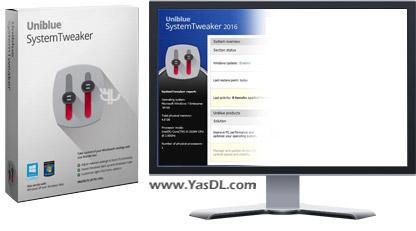 دانلود Uniblue SystemTweaker 2016 2.0.12.0 - نرم افزار بهینه سازی سیستم