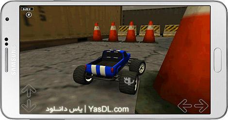 دانلود بازی Toy Truck Rally 3D 1.2.5 - مسابقات ماشین های اسباب بازی برای اندروید