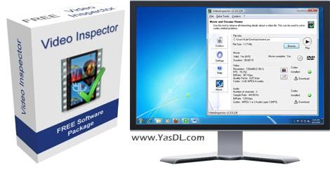 دانلود VideoInspector 2.8.3.135 + Portable - عیب یابی فایل های ویدیویی