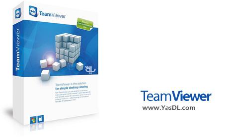 دانلود TeamViewer All Editions + Portable - تیم ویور کنترل از راه دور کامپیوتر