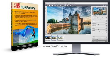 دانلود AKVIS HDRFactory 5.0.754 x86/x64 - ساخت تصاویر HDR