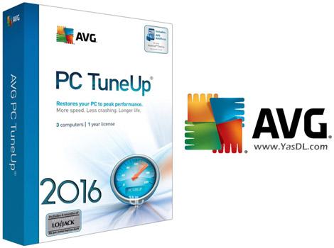 دانلود AVG PC Tuneup 2016 16.22.1.58906 x86/x64 - بهینه سازی سیستم