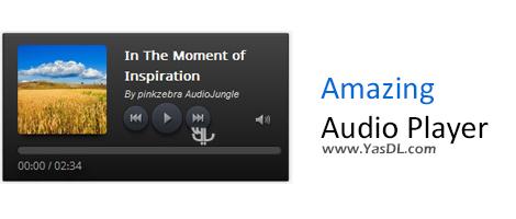 دانلود Amazing Audio Player Enterprise 3.3 - ساخت پلیرهای HTML5 برای وب سایت