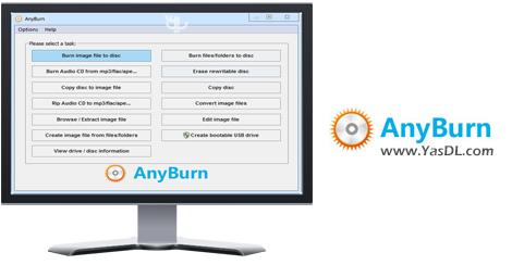 دانلود Any Burn 3.1 + Portable - نرم افزار رایت انواع دیسک ها