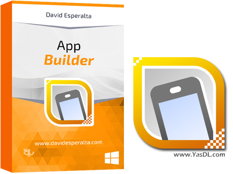 دانلود App Builder 2016.62 Portable - ساخت اپلیکیشن موبایل با HTML5