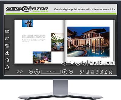 دانلود FlipCreator 4.9.8.2 - ساخت آسان کتاب های الکترونیکی ePub
