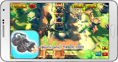 دانلود بازی Legendary Tower Strategy TD 3D 1.0 - دفاع از برج ها برای اندروید