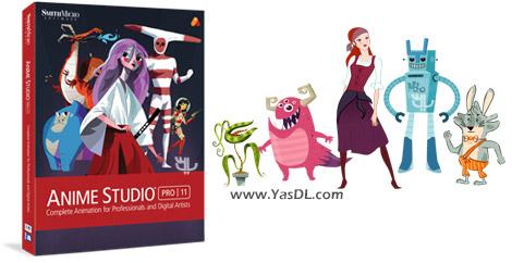 دانلود Smith Micro Anime Studio Pro 11.2 Build 18233 - ساخت انیمیشن