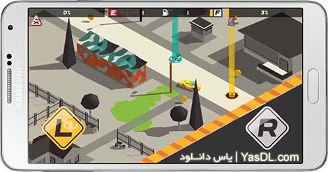 دانلود بازی Splash Cars 1.0 - ماشین های رنگ پاش برای اندروید + پول بی نهایت