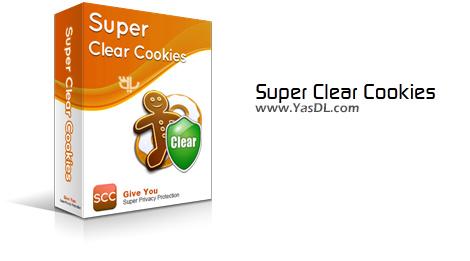 دانلود Super Clear Cookies 2.1.2.6 - حذف کوکی های اینترنتی