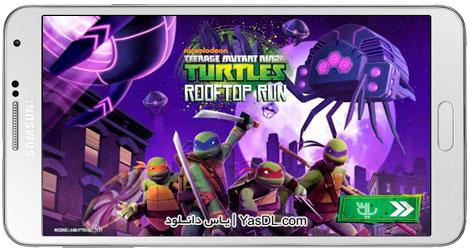 دانلود بازی TMNT: Rooftop Run برای اندروید + نسخه پول بی نهایت + دیتا
