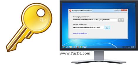 دانلود Win Product Key Viewer 1.0 + Portable - نمایش پروداکت کد ویندوز