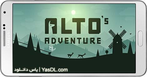 دانلود بازی Altos Adventure 1.0 - ماجراجویی آلتو برای اندروید + پول بی نهایت