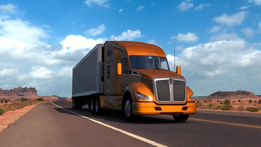American Truck Simulator 1.38.1.14s + 28 DLC For PC