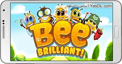 دانلود بازی Bee Brilliant 1.22.0 - زنبور عسل درخشان برای اندروید + پول بی نهایت