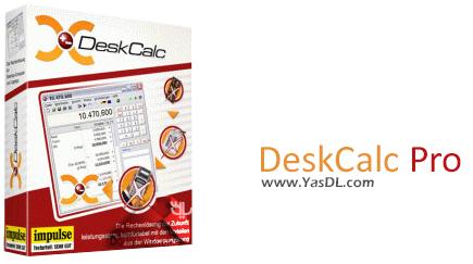 دانلود DeskCalc Pro 8.0.6 - ماشین حساب پیشرفته برای ویندوز