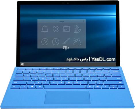 دانلود Free Desktop Widget Toolbox 2.2 - ویجت های دسکتاپ برای ویندوز