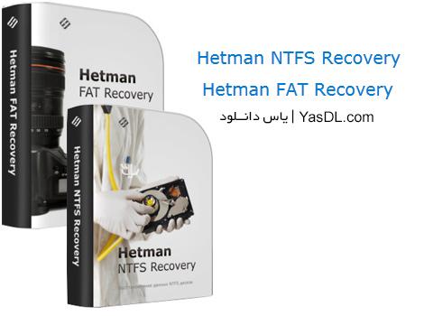 دانلود Hetman NTFS & FAT Recovery 2.5 + Portable - ریکاوری فایل ها