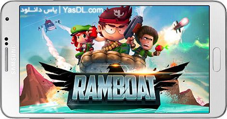 دانلود بازی Ramboat Hero Shooting Game 3.1.1 - تیراندازی در قایق برای اندروید