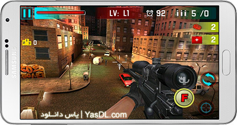 دانلود بازی Sniper Shoot War 3D 2.3 - شلیک تک تیر انداز برای اندروید