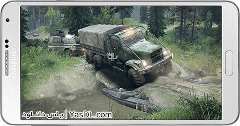 دانلود بازی Truck Simulator Offroad 1.0.5 - شبیه ساز کامیون برای اندروید