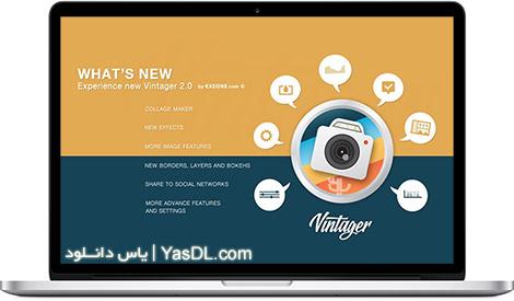 دانلود Vintager 2016 2.0.1.2 - ویرایش و زیباسازی تصاویر در ویندوز