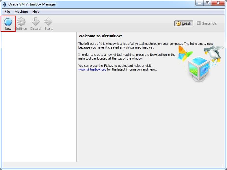 آموزش نصب اندروید روی کامپیوتر - Android 4.4 کیت کتVirtualBox1