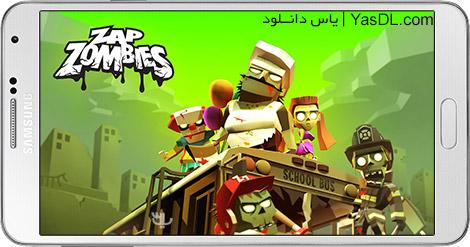 دانلود بازی Zap Zombies Bullet Clicker 1.0.5 - تیراندازی به زامبی ها برای اندروید