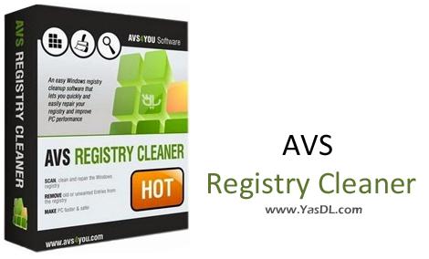 دانلود AVS Registry Cleaner 3.0.3.272 - نرم افزار پاک سازی رجیستری ویندوز