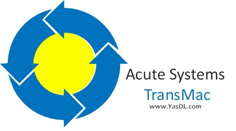دانلود Acute Systems TransMac 11.3 - خواندن دیسک های مکینتاش در ویندوز