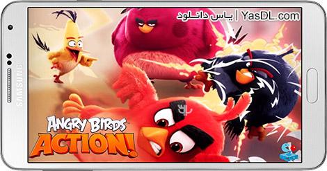 دانلود بازی Angry Birds Action! 1.8.0 - پرندگان عصبانی: اکشن! برای اندروید + دیتا