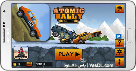 Atomic Rally 1.08 Game A2Z P30 Download Full Softwares, Games