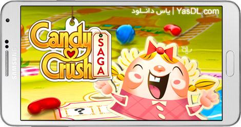 دانلود بازی Candy Crush Saga 1.71.0.3 برای اندروید + پول بی نهایت