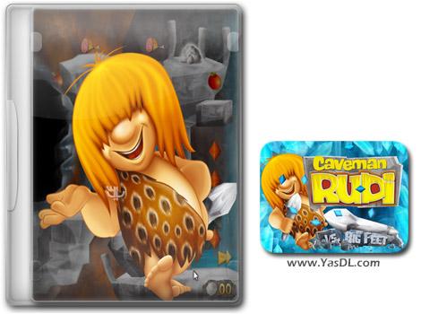 دانلود بازی کم حجم Caveman Rudi vs. Big Feet برای کامپیوتر