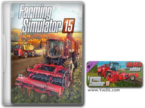 دانلود بازی Farming Simulator 15 Holmer برای PC
