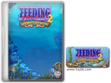 دانلود بازی کم حجم Feeding Frenzy 2 Shipwreck Showdown برای کامپیوتر