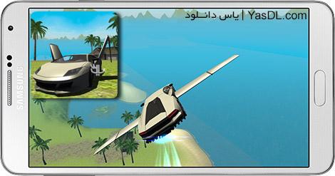 دانلود بازی Flying Car Free Extreme Pilot 1.0 - پرواز با ماشین برای اندروید