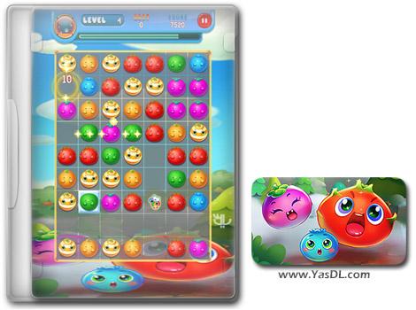 دانلود بازی کم حجم Fruity Jumble برای کامپیوتر