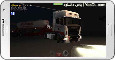دانلود بازی Grand Truck Simulator 1.12 - شبیه سازی کامیون برای اندروید + پول بی نهایت