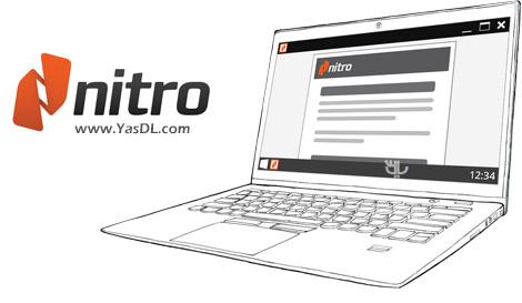 دانلود Nitro PDF Reader 5.5.6.21 x86/x64 - نمایش و ویرایش فایل های PDF