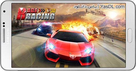 دانلود بازی Rage Racing 3D 1.0.082 - اتومبیل رانی خشن برای اندروید