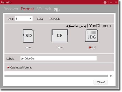 دانلود RecoveRx 3.2 Final + Portable - نرم افزار بازیابی اطلاعات