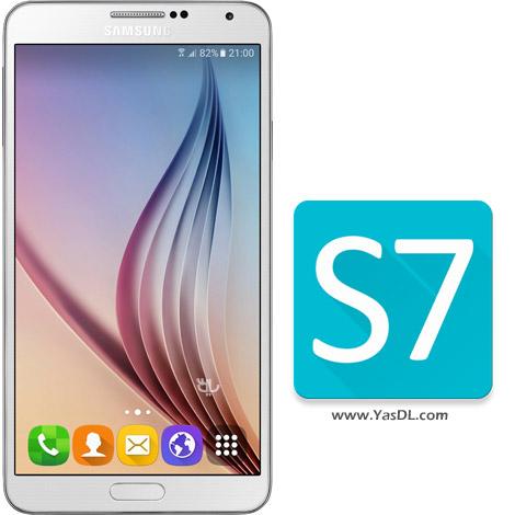 دانلود Theme – Galaxy S7 1.1.0 - پوسته زیبای گلکسی اس 7 برای اندروید