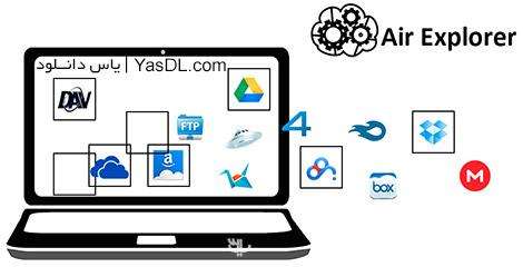 دانلود Air Explorer Pro 1.7.0 + Portable - مدیریت فایل ها در فضای ابری