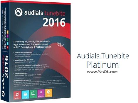 دانلود Audials Tunebite 2016 Platinum 14.0.63200.0 + Portable - ضبط موزیک و ویدیو از استریم های آنلاین و مبدل مالتی مدیا