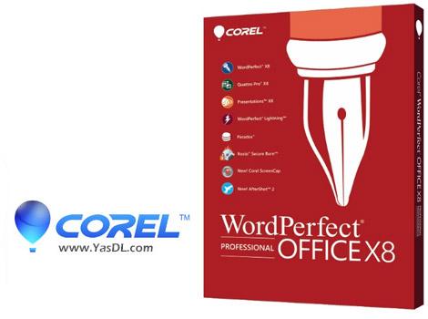 دانلود Corel WordPerfect Office X8 Professional 18.0.0.200 - مجموعه آفیس کرل