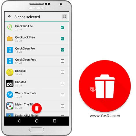 دانلود بازی Multiple App Uninstaller Pro 1.1 - حذف همزمان چندین اپلیکیشن در اندروید
