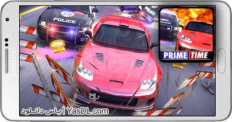 دانلود بازی Prime Time Rush 0.8.2 - اتومبیل رانی دزد و پلیس برای اندروید + دیتا + پول بی نهایت